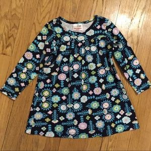 Hanna Andersson floral cotton shirt